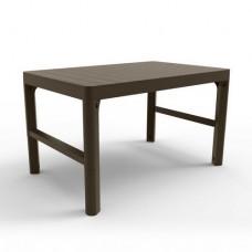 Стол LYON TABLE RATTAN (коричневый)