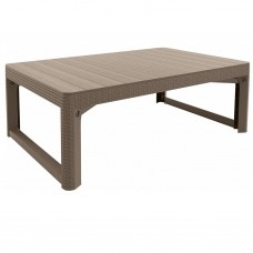 Стол LYON TABLE RATTAN (графит)