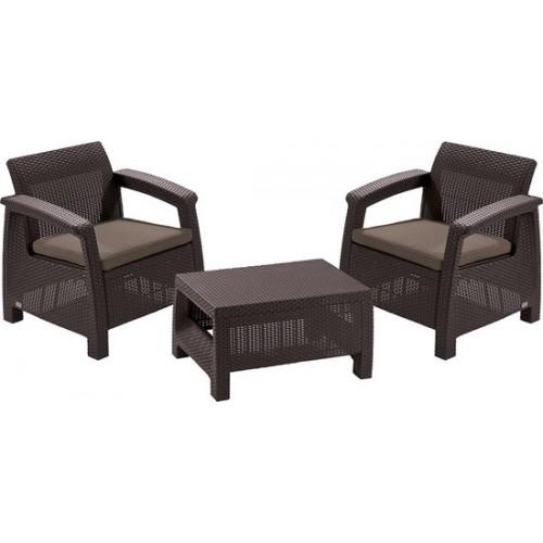 Комплект мебели CORFY WEEKEND (коричневый)
