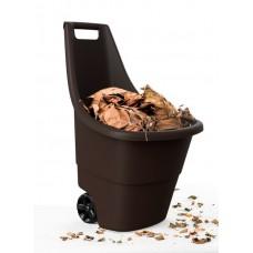 Тачка садовая EASY GO BREEZE, 50 л (коричневая)