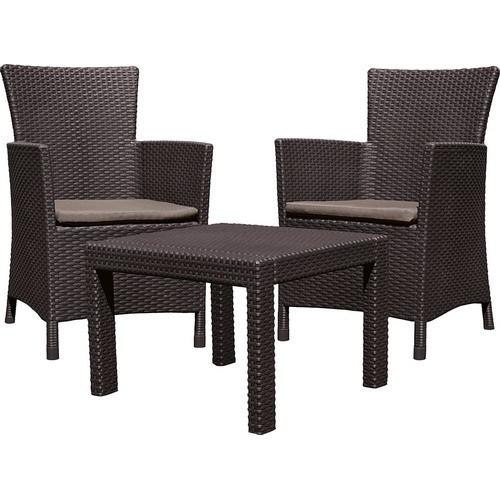 Комплект мебели ROSARIO BALCONY SET (коричневый)