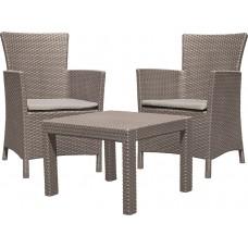 Комплект мебели ROSARIO BALCONY SET (капучино)