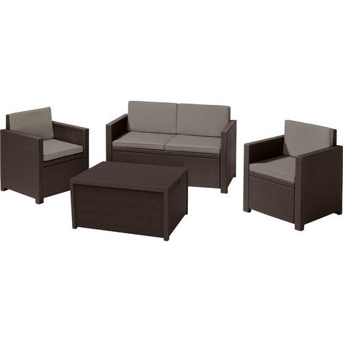 Комплект мебели MONACO SET (коричневый)