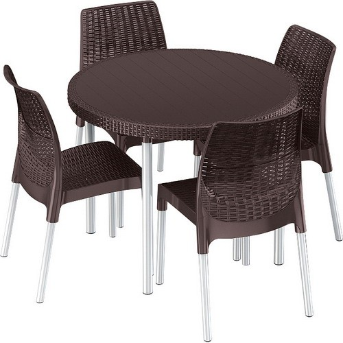 Комплект мебели JERSEY SET (коричневый)