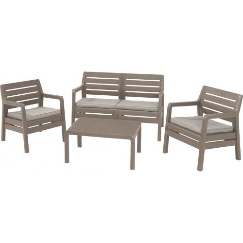 Комплект мебели DELANO SET (капучино)