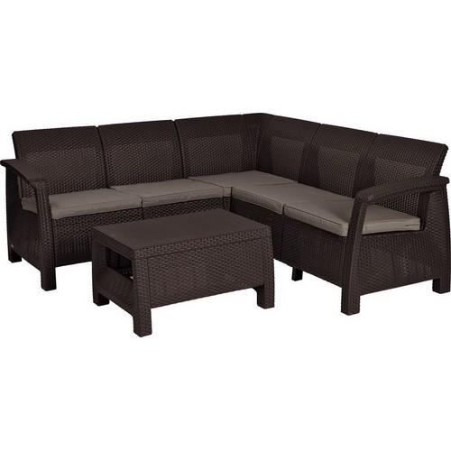 Комплект мебели CORFU RELAX SET (коричневый)