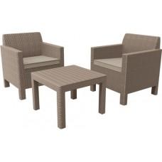 Комплект мебели ORLANDO BALCONY SET (капучино)