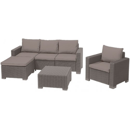 Комплект мебели MOOREA SET UNITY (капучино)