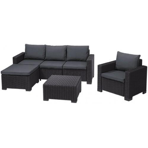 Комплект мебели MOOREA SET UNITY (графит)