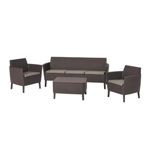 Комплект мебели SALEMO 3 SEATER SET (кор)