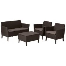 Комплект мебели SALEMO SET (коричневый)