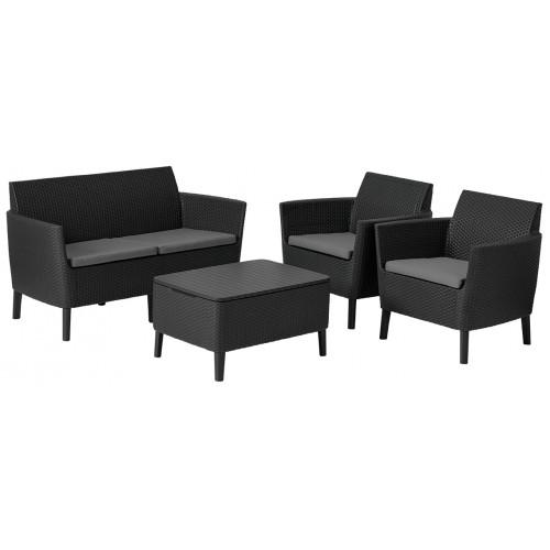 Комплект мебели SALEMO SET (графит)