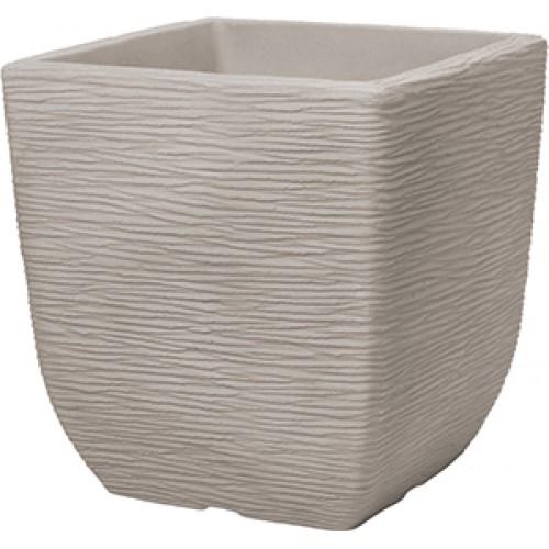 Кашпо SQUARE COTSWOID PLANTER 32cm (песочный)