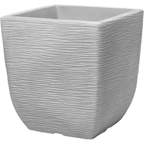 Кашпо SQUARE COTSWOID PLANTER 32cm (известковый серый)