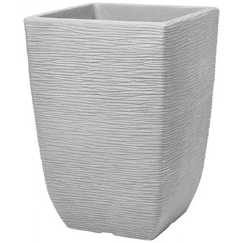 Кашпо TALL SQUARE COTSWOID PLANTER 33cm (известковый серый)