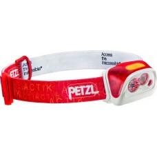 Фонарь налобный PETZL ACTIK CORE, красный