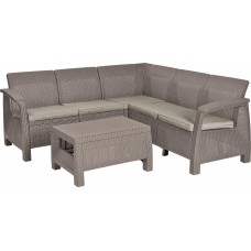 Комплект мебели CORFU RELAX SET (капучино)