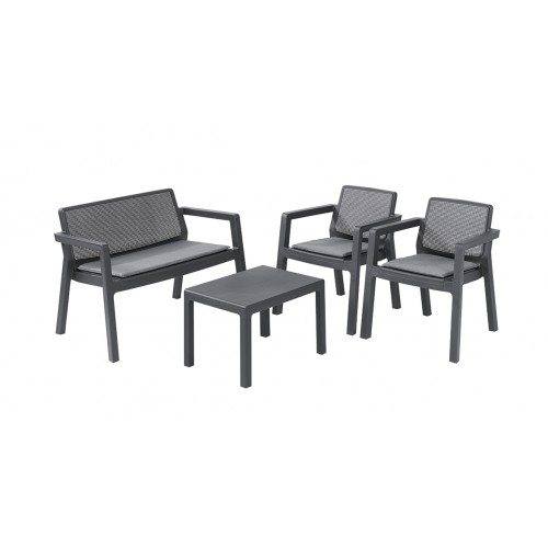 Комплект мебели Emily Patio Set (графит)