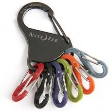 Брелок для ключей Nite Ize KeyRack Locker-Asst MicroLocks