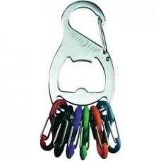Брелок для ключей Nite Ize Key Rack с открывашкой, стальной