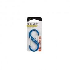 Карабин Nite Ize S-Biner SlideLock, алюминиевый, размер 3, синий